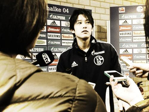 fyschalke04:  Uschi after the match