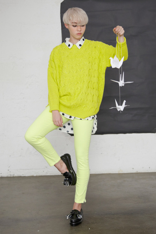 thewhitepepper:  Brighten up a dull day with Neon! Styling and Photography by THE WHITEPEPPER