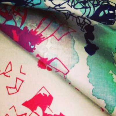 #textiles #fabricdesign #fashion #print