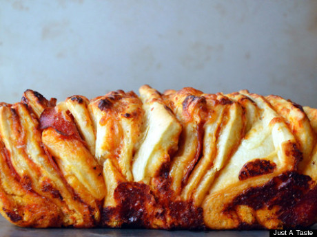 We'll just be over here, freaking out about pull-apart breads.