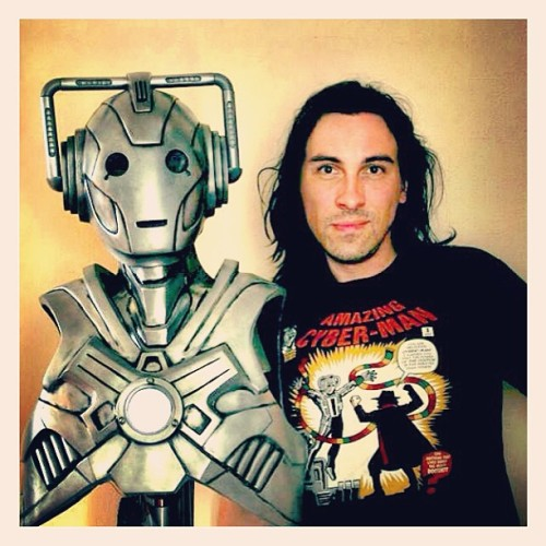 Master and apprentice. #cyberman