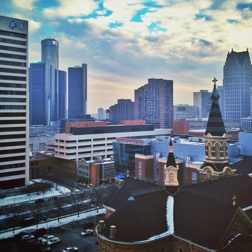 #detroit #city #michigan  (at Greektown Casino & Hotel)