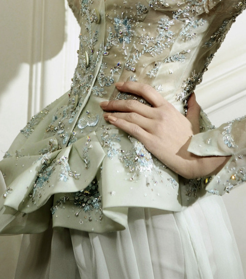 seaborder:  John Galliano for Christian Dior Spring Summer 2010 Haute Couture