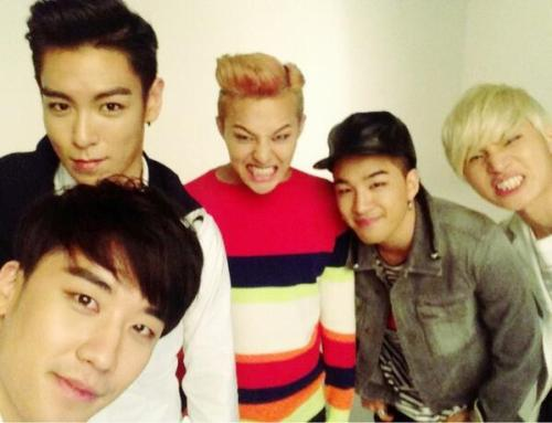 BIG BANG 5 !!  Missed seeing them all together …   @Furinki