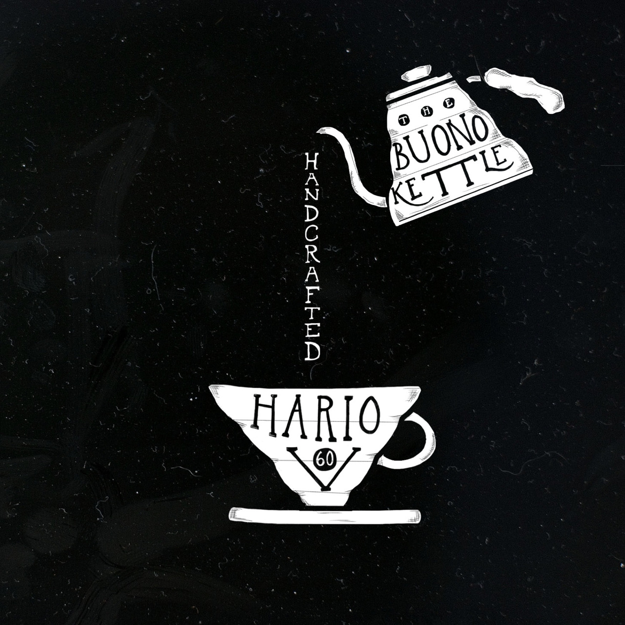 Handcraft your coffee with a Hario V60 and Buono kettle.