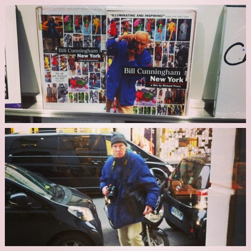 coletteteam:  Legendary Bill Cunningham from N Y to Paris fashion week… #billCunningham #onthestreet