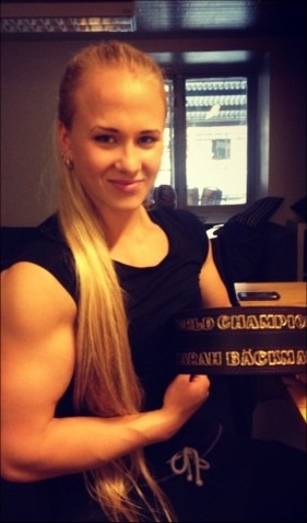 8x World Armwrestling Champion Sarah Backman!