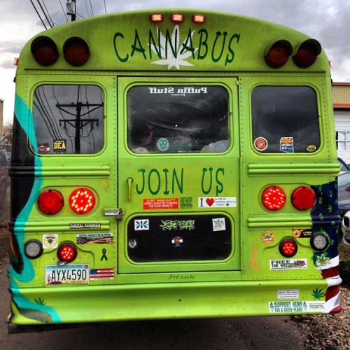 bitchdont-kill-myvib3:  thewizzardsyodel:  #cannabus #cannabiscup #denver  yessss