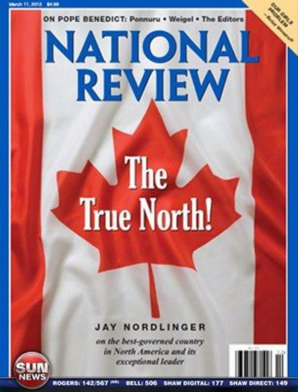 CANADA'S EXCEPTIONAL LEADER? March 18, 2013 17:04 American conservative magazine National Review has put Stephen Harper on its cover, calling Canada the best governed country in North America. . . #politically correct #social studies #stranger than fiction  #support Israel #video   . . ☆☆☆ PERMALINK ☆☆☆          ☆☆☆ HOME ☆☆☆