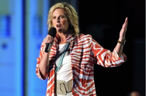 So, apparently Ann Romney (Mitt Romney's wife) was approached by the producers of Dancing With The Stars to be a contestant on the show after Ann gushed about how big of a fan she was last season. However, Ann has decided to pass on the opportunity.