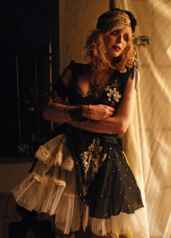 Courtney Love for 'Boudoir Queen', c. 2011. Photography by Mark Younger-Smith.