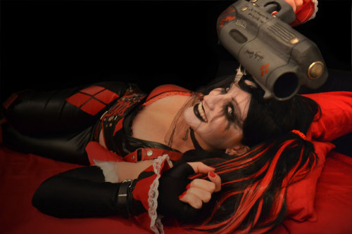 cosplay1:  Black n' red madness by *S-Lancaster Follow http://cosplay1.tumblr.com/ for the best cosplay pictures!