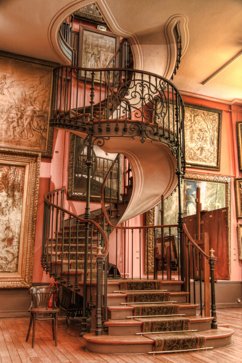 allthingseurope:  Musée Gustave Moreau, Paris (by ►bEbOpix)  Right so I need a two story house now…