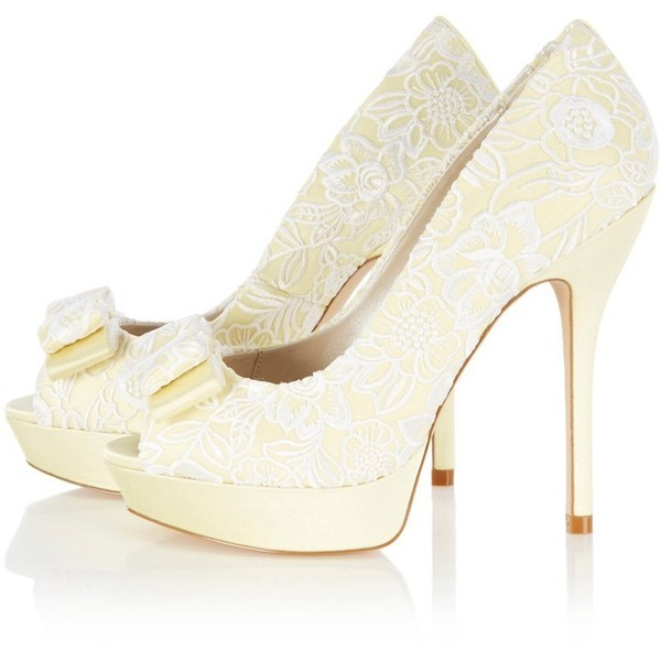 Karen Millen shoes   ❤ liked on Polyvore (see more bow shoes)