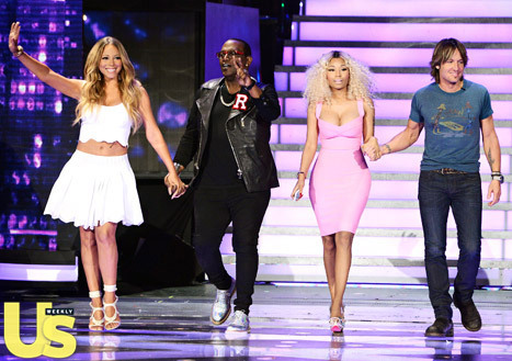 Is anyone safe on American Idol?  The producers will reportedly be firing Nicki Minaj, Mariah Carey, Randy Jackson and Keith Urban.