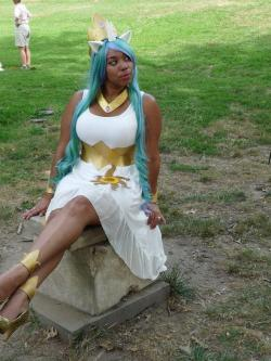 cosplayingwhileblack:  X Character: Princess Celestia Series: My Little Pony: Friendship is Magic