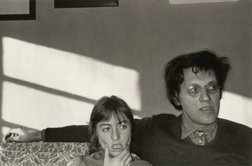 Lee Friedlander - Arlene and Alan Distler. New Charity, New York, 1969