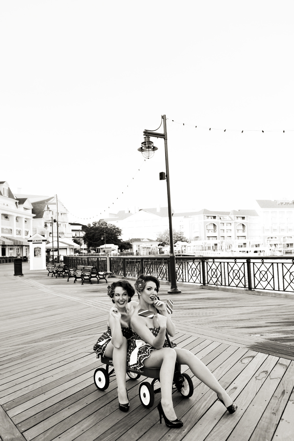 "Photo from the ""Day at the Boardwalk"" Collection by Lori Aulin featuring the effervescent Mary Mint.  We are shooting with Lori this Saturday and I'm super excited! See Lori's website, and please ""Like"" her Facebook page, too."