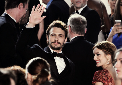 James Franco attending the 'As I Lay Dying' Premiere during the 66th Cannes Film Festival at the Palais des Festivals on May 20, 2013.