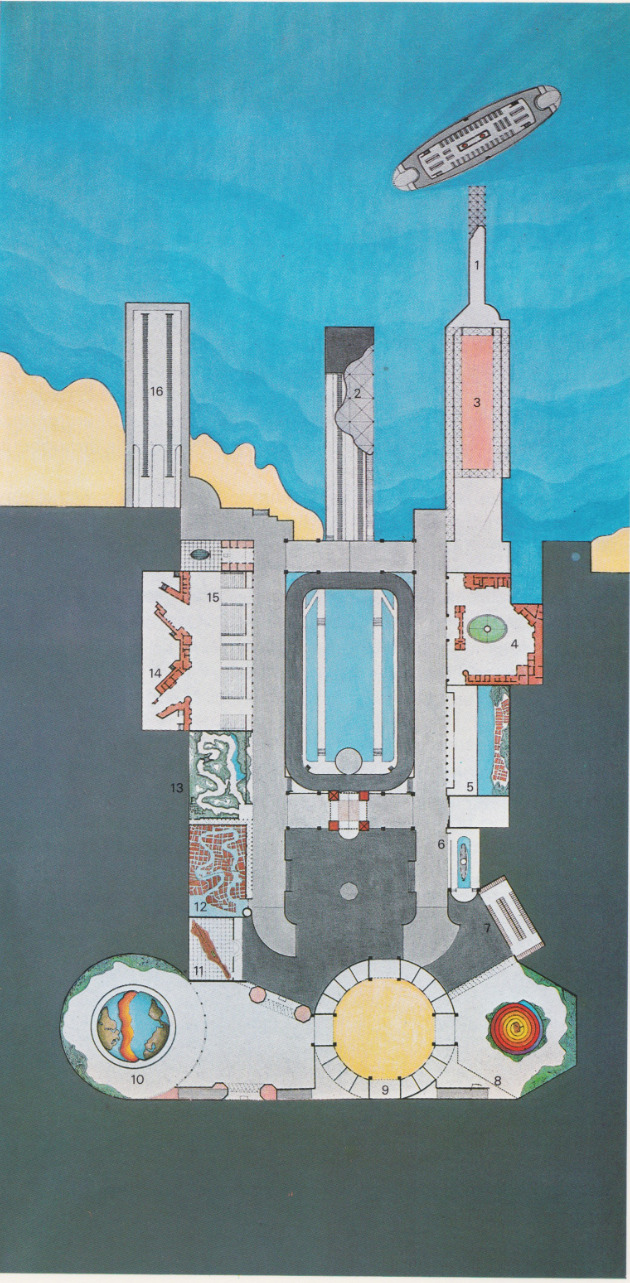 Rem Koolhaas 1978 Delirious New York - Plan of Dreamland