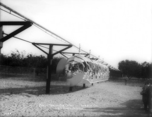 In 1910, Joseph Fawkes built an experimental, propeller-driven monorail in Burbank. Discover the full story with L.A. as Subject's latest post to Los Angeles magazine's City Think blog.