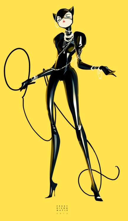 ronbeckdesigns:  cat woman