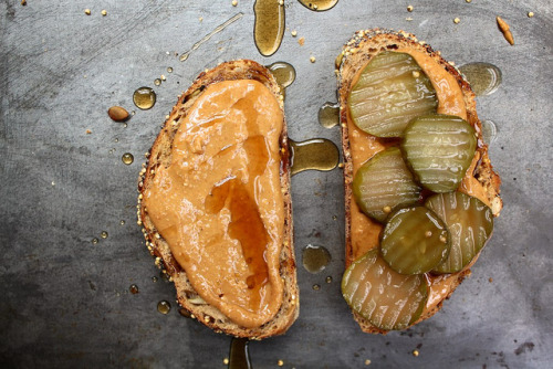 veganrecipecollection:  (via Joy the Baker – Peanut Butter and Pickle Sandwich)  I thought I was the only person to love this!