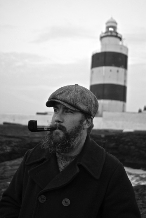 Me, taken by Sebastian Muller at Hook Head, Ireland in November, 2011.  One of my most favorite places I've ever been to.   I miss Ireland so much.