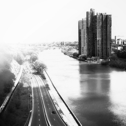 #landscape #cityscape #blackandwhite #city #ny #nyc #instapic #hdr #highway #contrast #highcontrast #hdrdrive