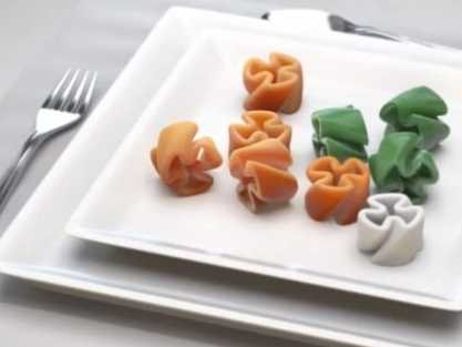 "3-D Printed Food Vs World Hunger - Business Insider Anjan Contractor's 3D food printer might evoke visions of the ""replicator"" popularized in Star Trek, from which Captain Picard was constantly interrupting himself to order tea. And indeed Contractor's company, Systems & Materials Research Corporation, just got a six month, $125,000 grant from NASA to create a prototype of his universal food synthesizer. Read more:"