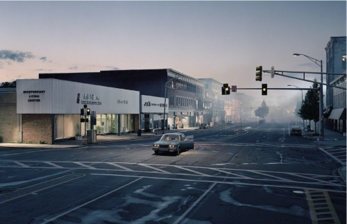 hydeordie:  Gregory Crewdson Untitled (North by Northwest) 2004