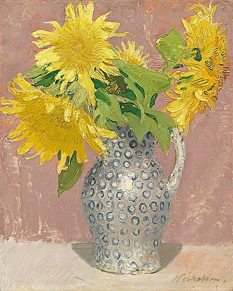 stilllifequickheart:  William Nicholson Sunflowers 1933