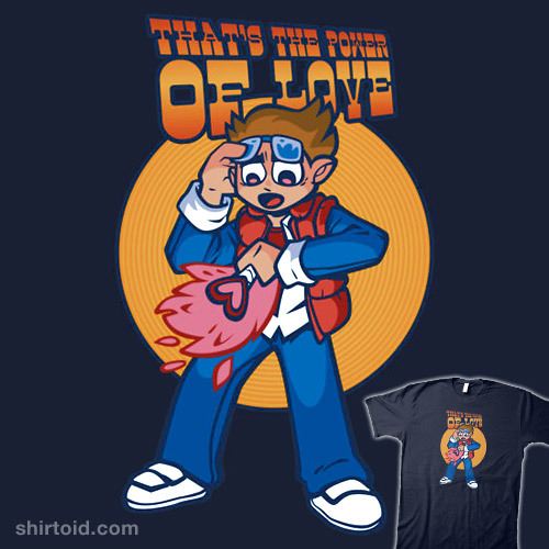 shirtoid:  Love Power! by Nik Holmes is available at Redbubble