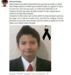 El suicidio de Richi Phelps