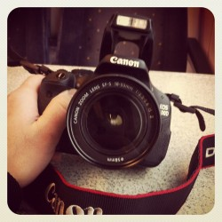 Just picked up the #canon now time to head off to #london #camera #photography