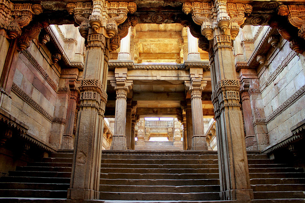 Photo of the Day: Medieval Adalaj Stepwell, Gujarat An Editors' Pick from our 2012 Photo Contest.   Photo by Bornav Raychaudhury (Pune, India); Gujarat, India