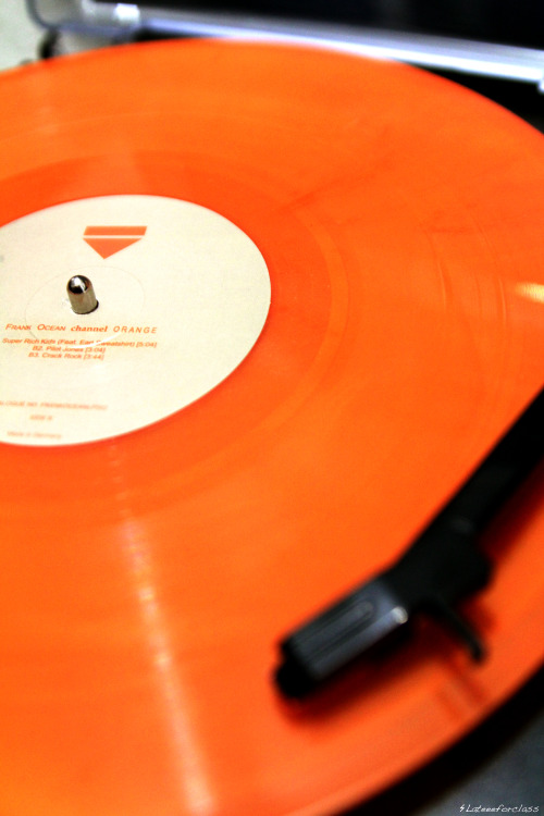 lateeeforclass:  Channel Orange LP