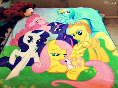 pikachub:  Pony Blanket by ~PikaChub