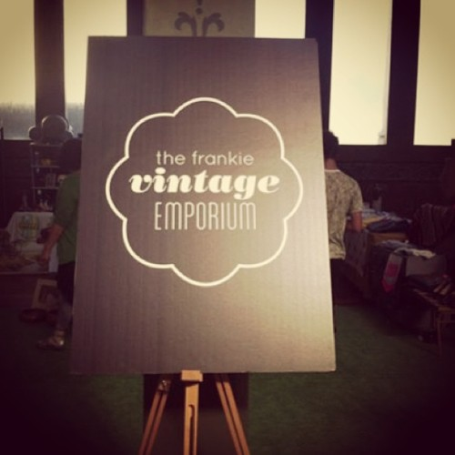Yay! We've been selected as a vintage seller for Frankie's Vintage Emporium at Finders Keepers Market! Only 5 selected, feeling super spesh today! #finderskeepers #frankie #superspesh