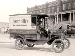 The Early Days of the American Hot DogOne of the many Boner Billy's Fine Foods & Merchandise delivery vehicles in the early days in San…View Post
