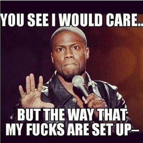 Just saying! No offense :) 👋😃#kevinHart #quote #comedy #random