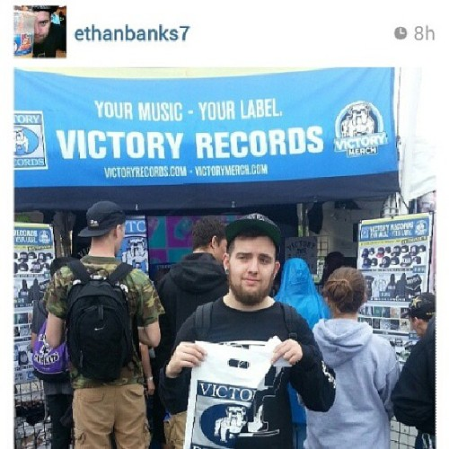 Congratulations to @ethanbanks7 for winning our contest today!  Email info@victoryrecords.com to claim your prize . Our runner ups are @asg_44 @DJ_lewntaic @cwishh @granfaloon #victorybooth #victoryrecords