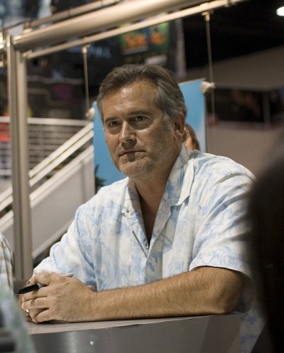 mooneclipser:  Bruce Campbell by frumpysf on Flickr. Bruce Campbell