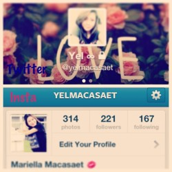 Username changed 😁 #followmeh #twitter #insta @yelmacasaet