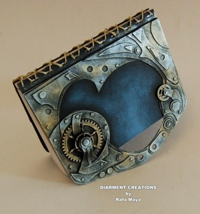 bookpatrol:  Steampunk binding