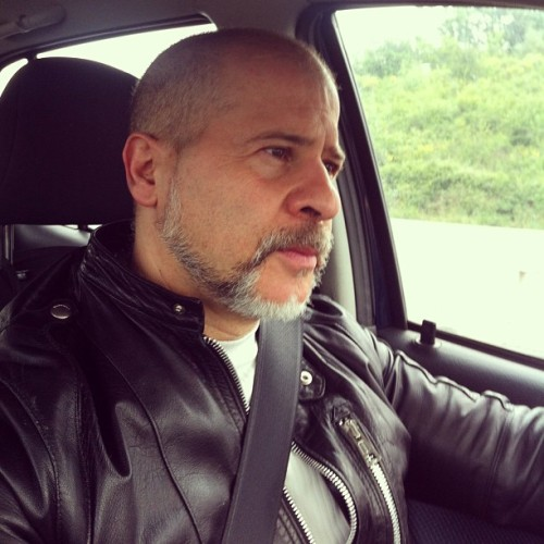 #fast #car #leather #jacket #leatherman #driving #belt #daddy ##daf #gay #lgbt #pride  (presso A1 - Firenze Sud)