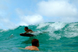 body boarding in hawaii