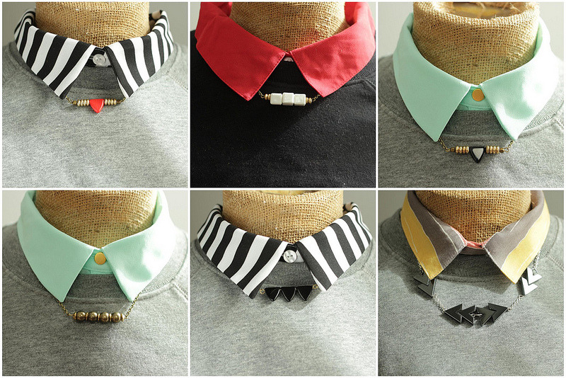 A new collection of Collar Necklaces at A Common Thread.