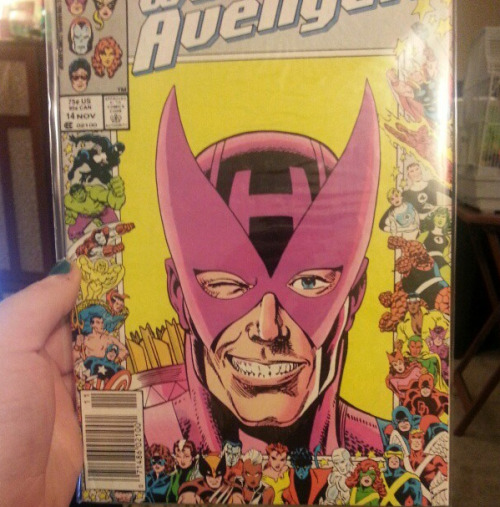 Finally got my hands on one of my favorite all time covers. I was delighted by all of the unexpected Daimon Hellstrom within.  Related, Mary made me realize why I love this cover so much…