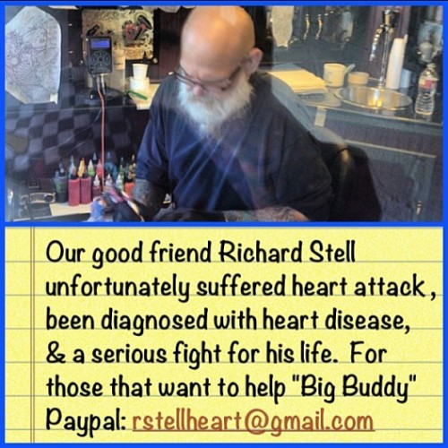 Help out our friend Richard Stell!